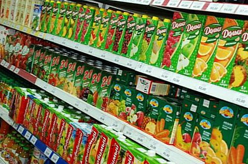 packaged juices