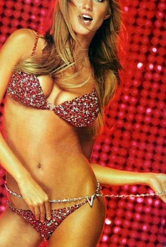 Горячий красный бюстгальтер и трусики «Victoria's Secret»: $15 млн.