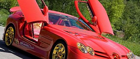 2011 SLR MacLaren Red Gold Dream – 10 млн долларов