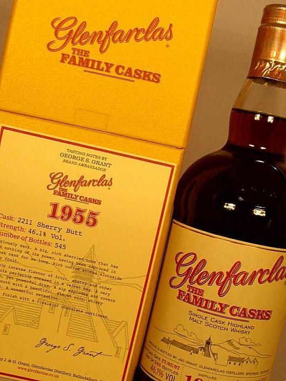 Glenfarclas 1955, 50-year exposure - $ 10.878