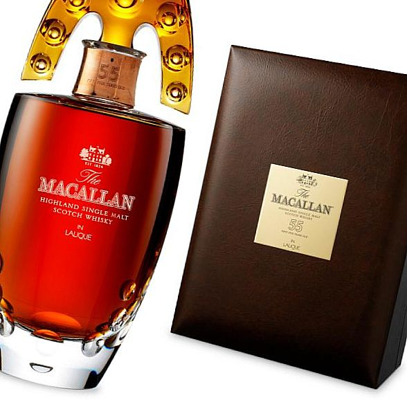 The Macallan Lalique Crystal Decanter, 55-летней выдержки – $12,500