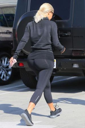 Yoga pants on the way out
