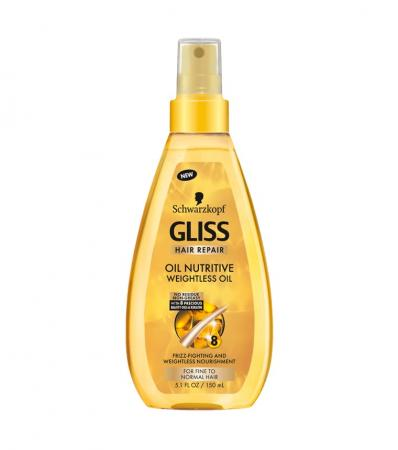 Schwarzkopf Gliss Oil Nutritive Weightless Oil