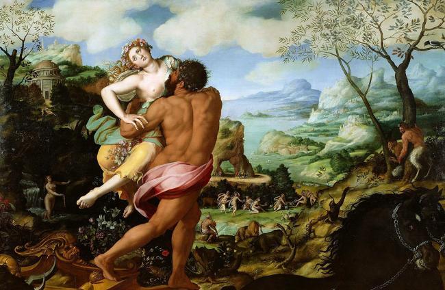 Greek mythology and matrix