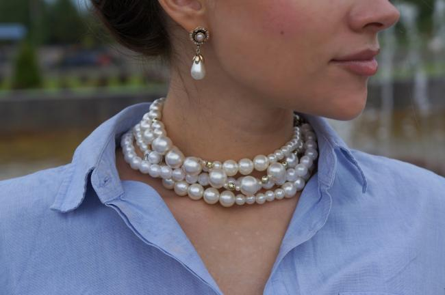 Jewelery from pearls
