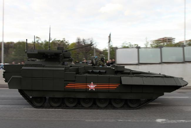 The universal combat platform of Armata