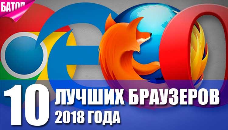 Лучшие браузеры
