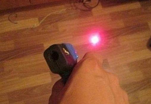 Прицел лазерный