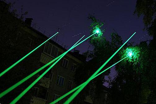 Лазер дальнего действия