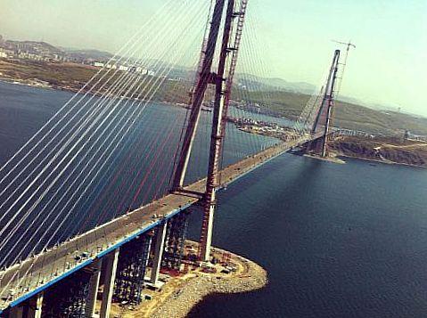 Мост «Русский» во Владивостоке