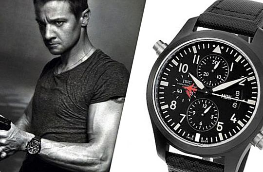 Эволюция Борна, IWC Pilot Double Chronograph Edition Top Gun
