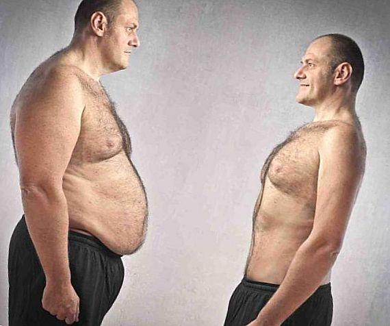 жир на груди и животе