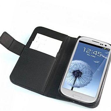 smartphone in the case