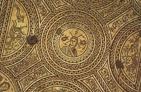 Мозаика в церкви Святой Марии