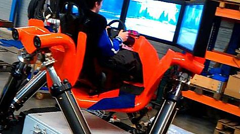 Hexatech Hexathrill Racing Simulator