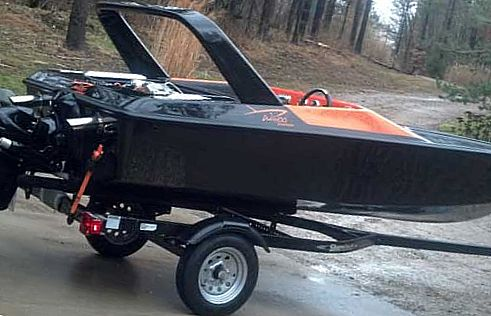 Phantom 15 Speed Boat with Harley Davidson Crate Motor