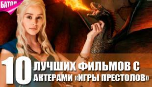 Роли актеров игры престолов