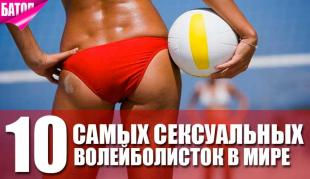 Самые сексуальные в мире волейболистки