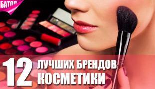 Лучшие бренды косметики