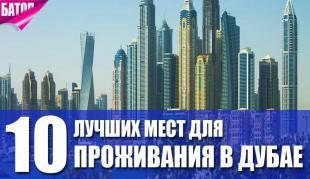 лучшие места для проживания в Дубае