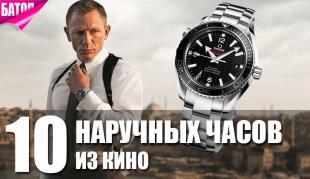 Мужские наручные часы из кино