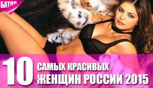 самые красивые женщины россии
