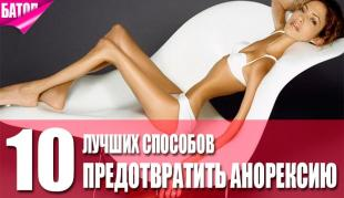 борьба с анорексией