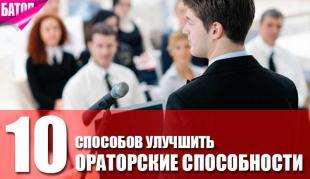 способы улучшить ораторские способности