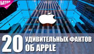 умопомрачительные факты о компании apple