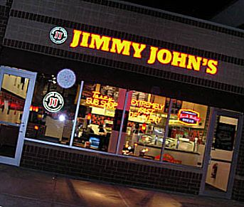 Ресторан Jimmy John's Gourmet Sandwich Shops