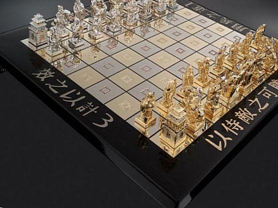 Секс шахматы в египетском стиле