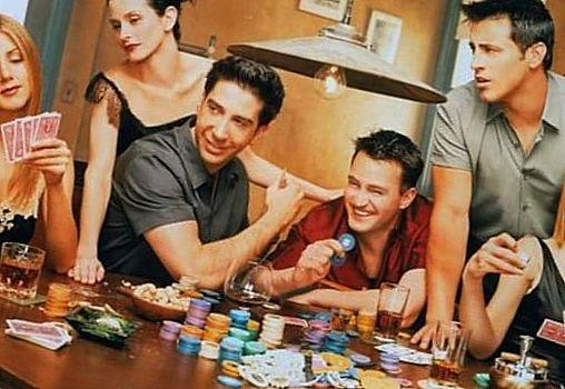 Друзья сериал играют в карты на казино онлайн игровые автоматы на реальные