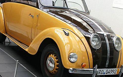Ретро автомобиль ADLER
