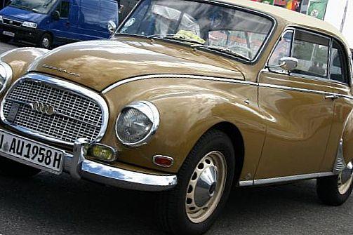 Немецкий ретро автмобиль