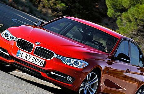 Красный BMW