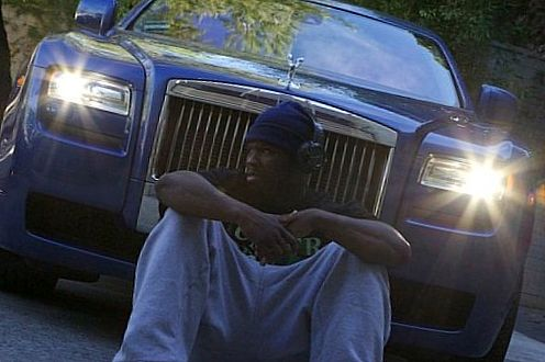 Rolls-Royce Phantom - 50 Cent