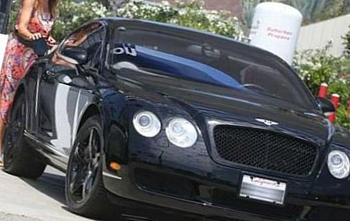 Bentley Continental GT — машина Синди Кроуфорд