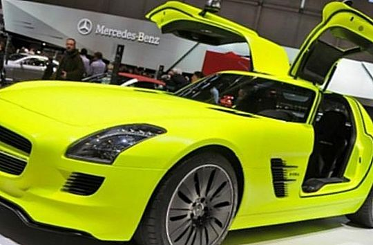 Mercedes-Benz SLS Electric Gullwing E-Cell – $1 млн.