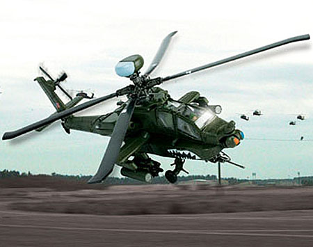 AH-64D Apache Long Bow