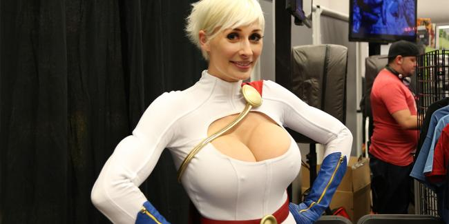 power girl мари-клод