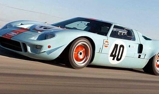 Ford GT40 Gulf/Mirage Coupe 1968