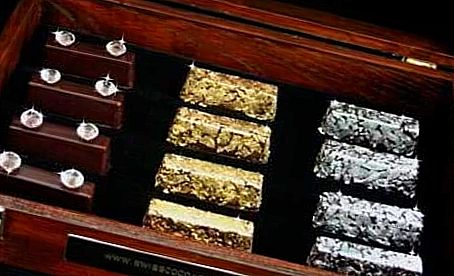Gold and Diamond Chocolates