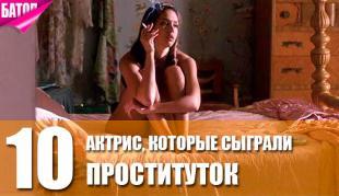 актрисы, сыгравшие проституток