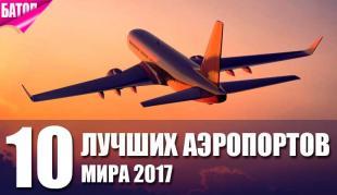 Лучшие аэропорты мира 2017
