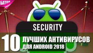 Лучшие антивирусы для Android