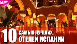 10 лучших отелей Испании