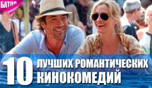 Лучшие романтические кинокомедии