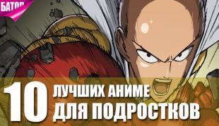топ аниме для подростков