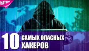 Топ-10 самых опасных хакеров