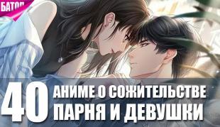 Лучшие романтические аниме о сожительстве парня и девушки